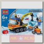Конструктор Арктика - Вездеход и снегоход, 180 деталей