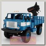 Радиоуправляемая модель Краулера WPL Offroad Truck Pro 4WD RTR 1:16 (Blue)