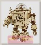 Деревянный 3D-конструктор музыкальная шкатулка Robotime Робот Orpheus
