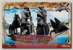 Пластиковый конструктор COBI Корабль Pirate Frigate с фигурками людей