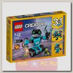 Конструктор 3 в 1 ЛЕГО Креатор - Робот-исследователь (свет)