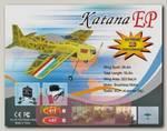 Радиоуправляемый самолет CYmodel Katana EP ARF