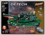 Радиоуправляемый конструктор Cada deTech Танк M1A2 Abrams 2в1 2.4GHz