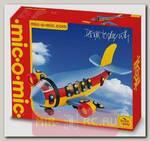 Конструктор Build & Play - Реактивный самолет, 110 деталей