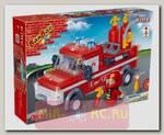 Конструктор Пожарный джип, 158 деталей