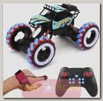 Радиоуправляемый краулер Yearoo Winner Drift Wheels Blue 1:10 (часы + пульт)