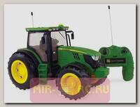 Трактор р/у John Deere 6190R (на бат., свет, звук), 1:16