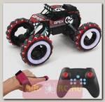 Радиоуправляемый краулер Yearoo Apex Fire Wheels Red 1:12 (часы + пульт)