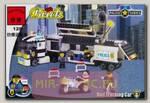 Конструктор Brick Полицейский трейлер с фигурками людей