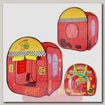 Детская игровая палатка Гаражи