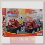 Пластиковый конструктор Малыш Мастер - Пожарная машина, 10 дет.