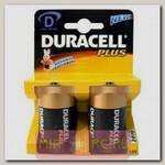 Батарейка Duracell D 1.5V