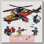 Конструктор Полиция - Боевой вертолет, 654 детали
