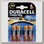 Батарейки алкалиновые TurboMax AA 1.5V LR6, 4шт