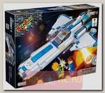 Конструктор Космический летательный аппарат, 382 детали