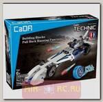 Конструктор Cada Technics Гоночный автомобиль c инерционным механизмом (144 детали)