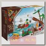 Конструктор Пираты-захватчики, 140 деталей