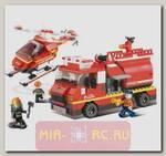 Конструктор Пожарный - Пожарные спасатели, 409 деталей