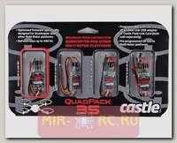 Комплект из 4х регуляторов оборотов Castle Creations QuadPack 35A для квадрокоптеров